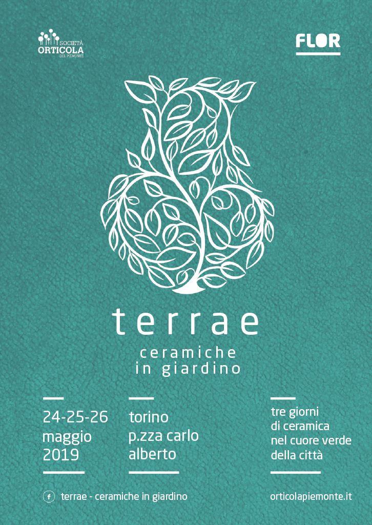 Nericata e le sue ceramiche partecipano a Terrae e Flor Primavera: a Torino 24-26 maggio 2019