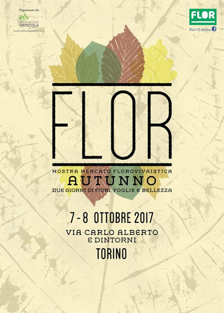 Nericata a Flor Autunno: a Torino il 7 e 8 ottobre 2017