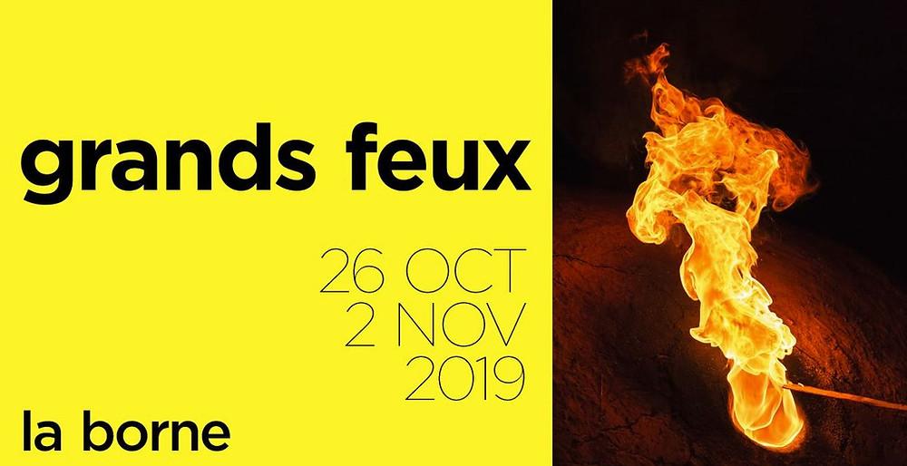 Nericata ai Grands Feux - La Borne (Francia), 28/10 - 4/11/2017