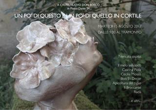 Ferragosto in cortile da Nericata a Castelnuovo Don Bosco