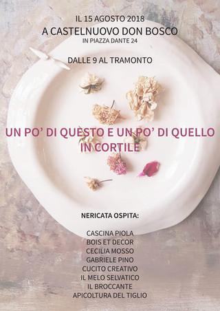A Ferragosto torna In Cortile da Nericata a Castelnuovo Don Bosco, Asti