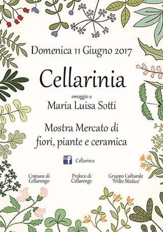 Nericata espone a Cellarinia - Cellarengo (AT), 11 giugno 2017