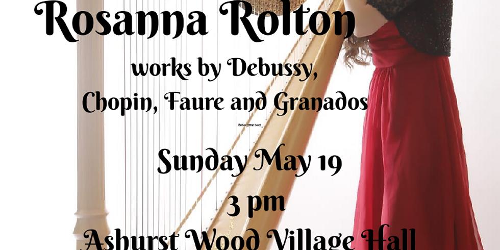 Rosanna Rolton, Harp Recital
