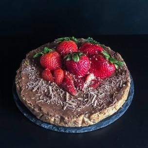 Raw čokoládový dortík