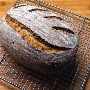 Chléb z žitného kvasu podle Mari