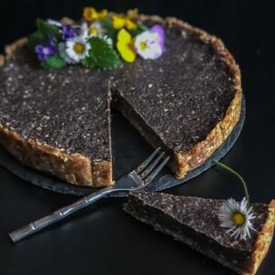 Raw makový dortík