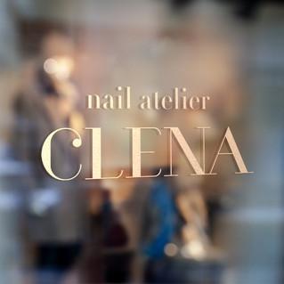 """""""nail atelier CLENA"""" logo"""