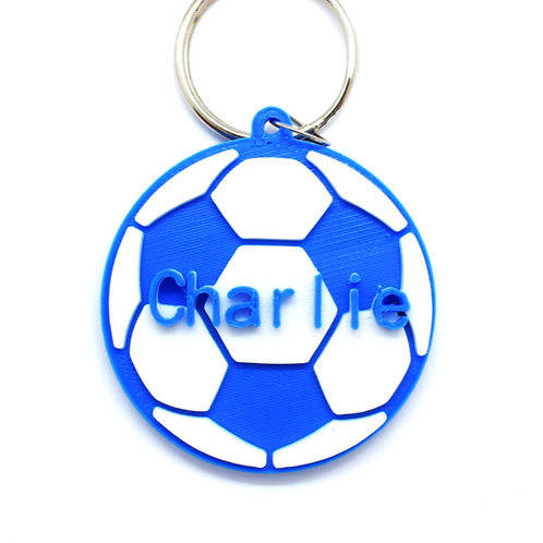 Named Football Keyring