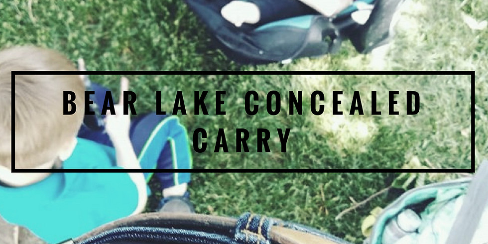 BEAR LAKE Concealed Carry (MORNING)