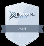 Brandon Hall Award 2013