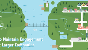 How to Maintain Engagement at Larger Companies