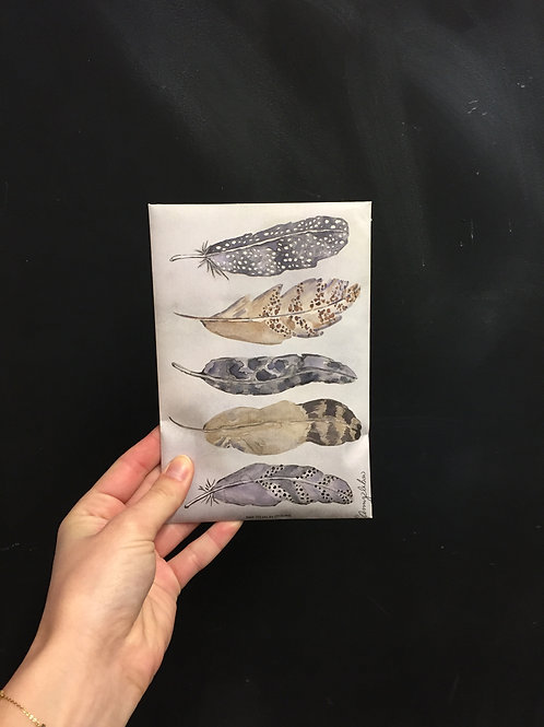 Duftsäckchen 'feathers'
