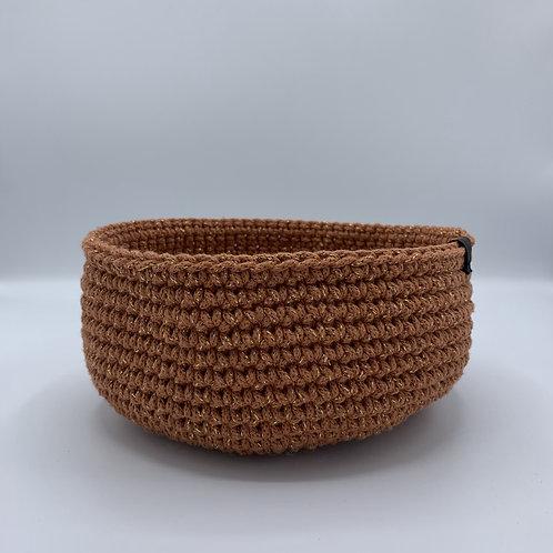 Handgemachtes Körbchen 'Terracotta'