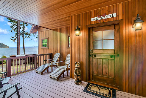 Vacation Homes on Hood Canal Madrona Welcome
