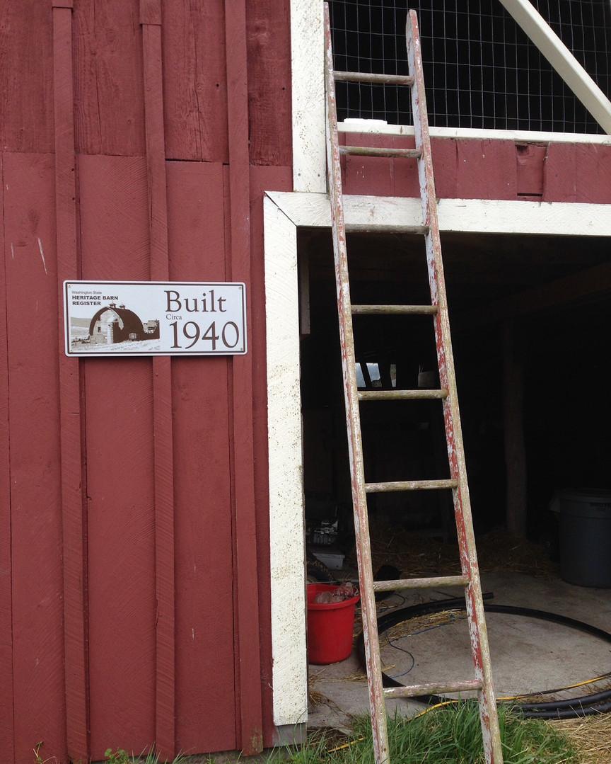 Eckholm Farm Whidbey Island WA Historic Barn Restoration
