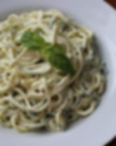 Laurie Hardie Zucchini Zoodle Alfredo for 4 Ways to Yummy