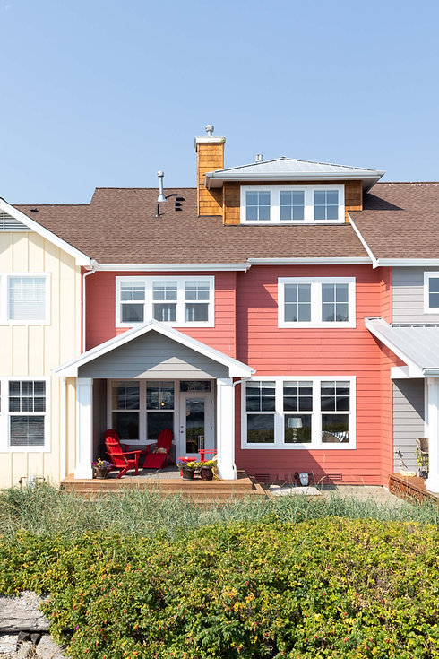 Vacation Homes on Hood Canal Happy Place on the Beach Facade Porch