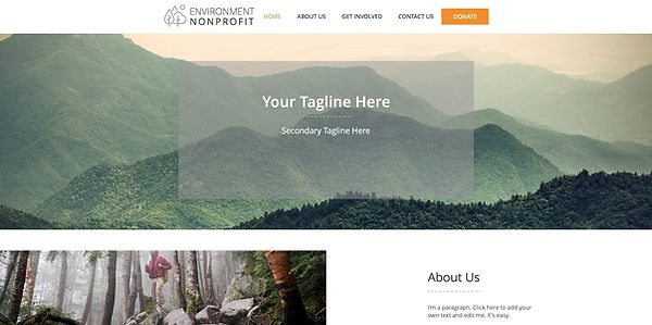 Enviro Nonprofit Theme New Eve Creative