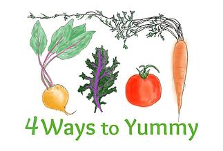 4 Ways to Yummy Cooking Kids Children Families