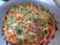 """Collie Flower"" Pizza Crust 4 Ways to Yummy Cooking Kids Children Families Whidbey Island"