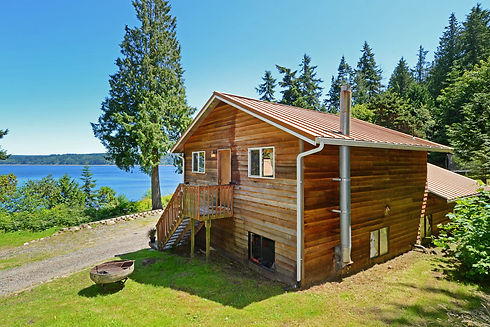 Vacation Homes on Hood Canal Hazel Point Beach Cottage