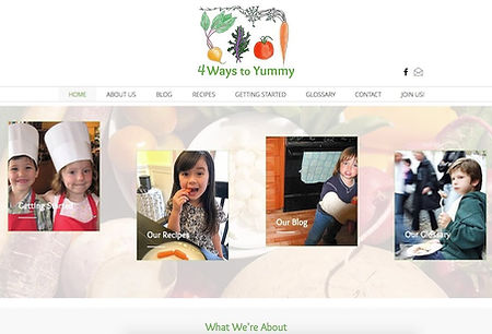 New Eve Creative Whidbey Island Web Design 4 Ways to Yummy Web Design Project