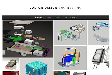 New Eve Creative Whidbey Island Web Design Colton Design Engineering Project