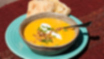 4 Way to Yummy Dinner in a Hurry Curried Squash Soup