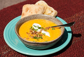 4 Ways to Yummy Dinner in a Hurry Curried Squash Soup