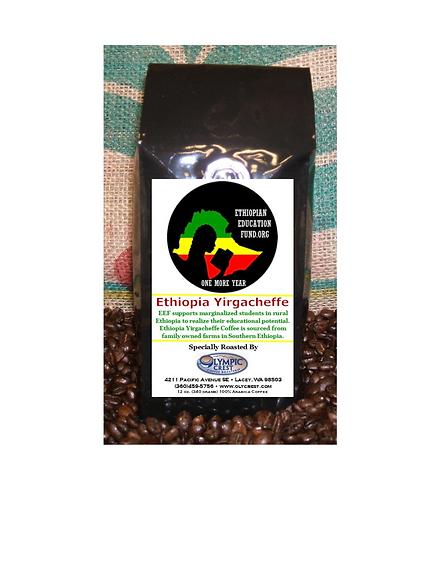 Ethiopian Education Fund Olympic Crest Coffee