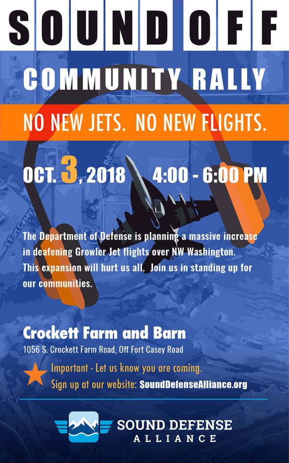 No New Jets. No New Flights.