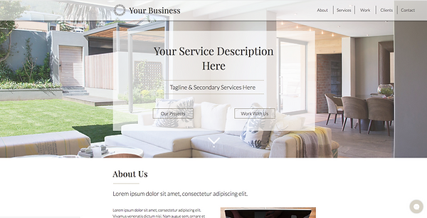New Eve Creative | Whidbey Island Web Design | Semi-Custom Solutions | One-Page Wonder Theme