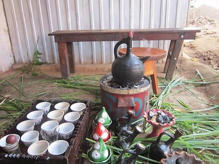 Ethiopian Education Fund Coffee Ceremony
