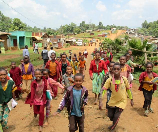 Ethiopian Education Fund Town Children