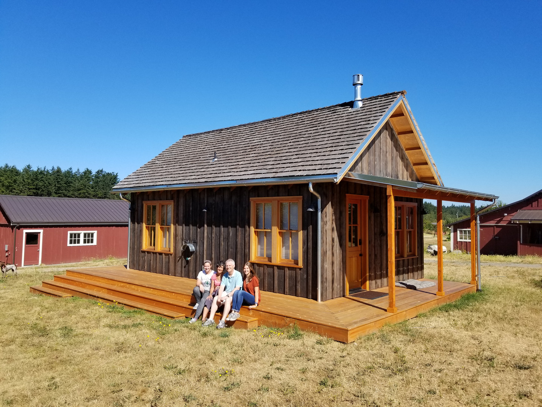 Eckholm Farm Whidbey Island WA Earlywine Cabin