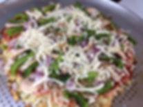 """""""Collie Flower"""" Pizza Crust"""