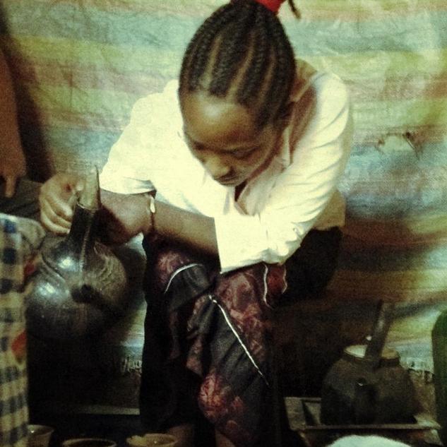 Ethiopian Education Fund Tigist & Coffee
