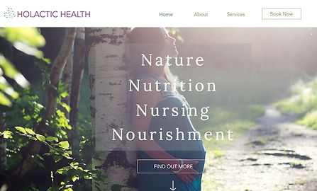 New Eve Creative Whidbey Island Web Design Holactic Health Project