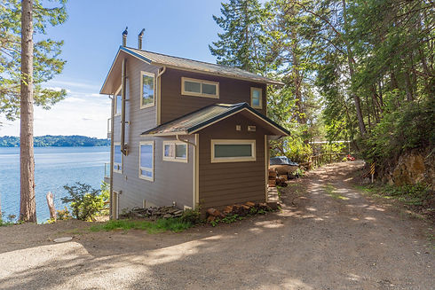 Vacation Homes on Hood Canal Paradise at the Cove from Driveway