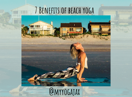 7 Benefits of Beach Yoga