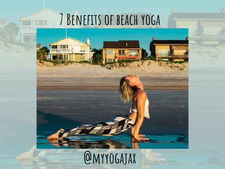 7 Benefits of Beach Yoga