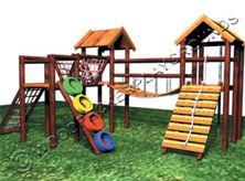 Gladiator Wooden Jungle Gym