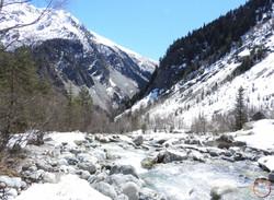 Mestia- river