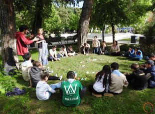 Sheki - scouts event