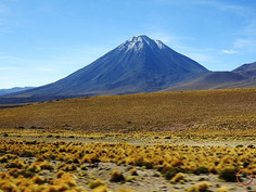 amazed in crossing the andes