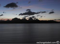 Ratchaprapa Dam_sunset in motion