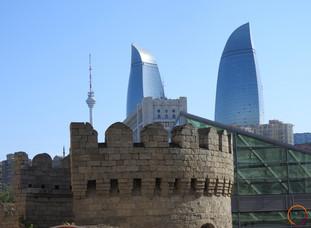 Baku - towers