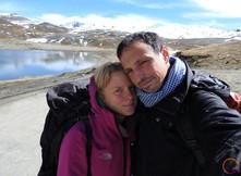 facing el choro trek