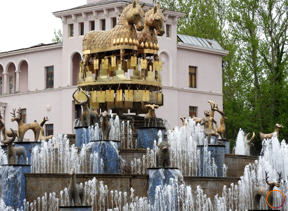 Kutaisi - Colchis fountain