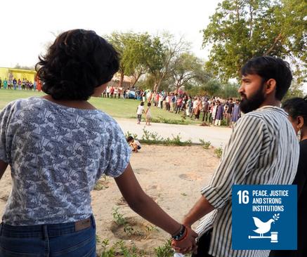 SDG 16: Pace, giustizia e istituzioni solide